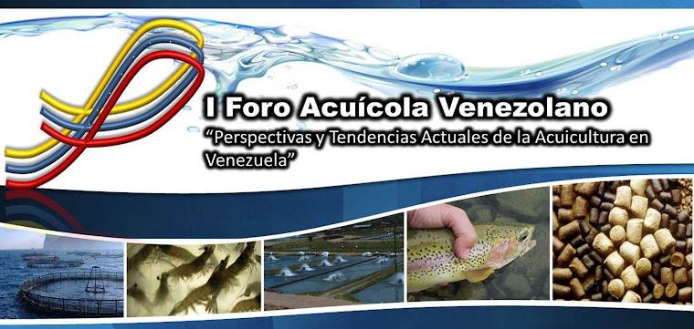 I Foro Acuicola Venezolano