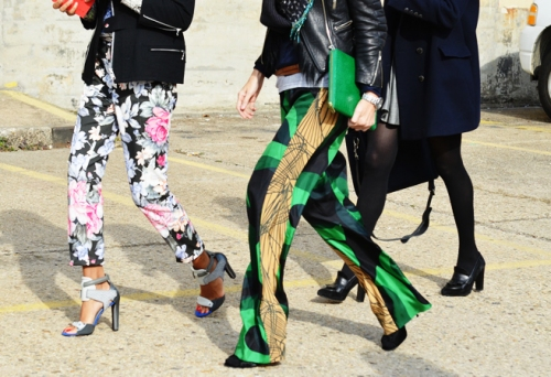 Fantasy pants street style