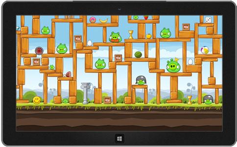 angry birds win8 temasi rooteto 10 Tane Güzel Windows 8 Temaları ücretsiz indirin