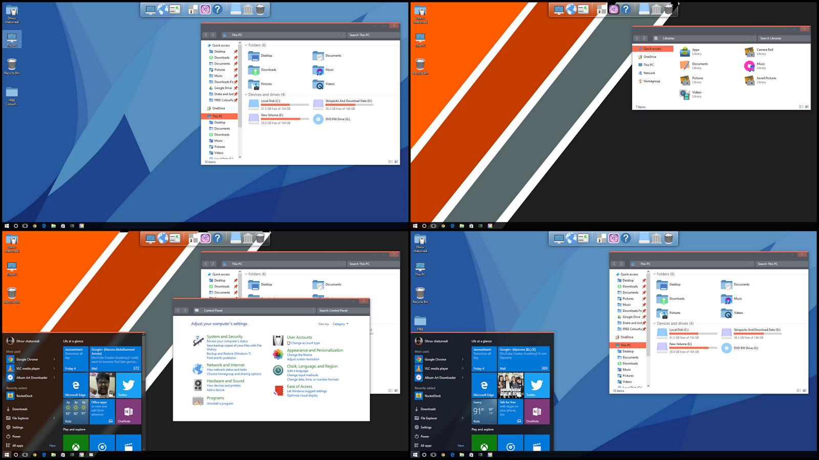 Google themes windows 10 - Google Themes Windows 10 13