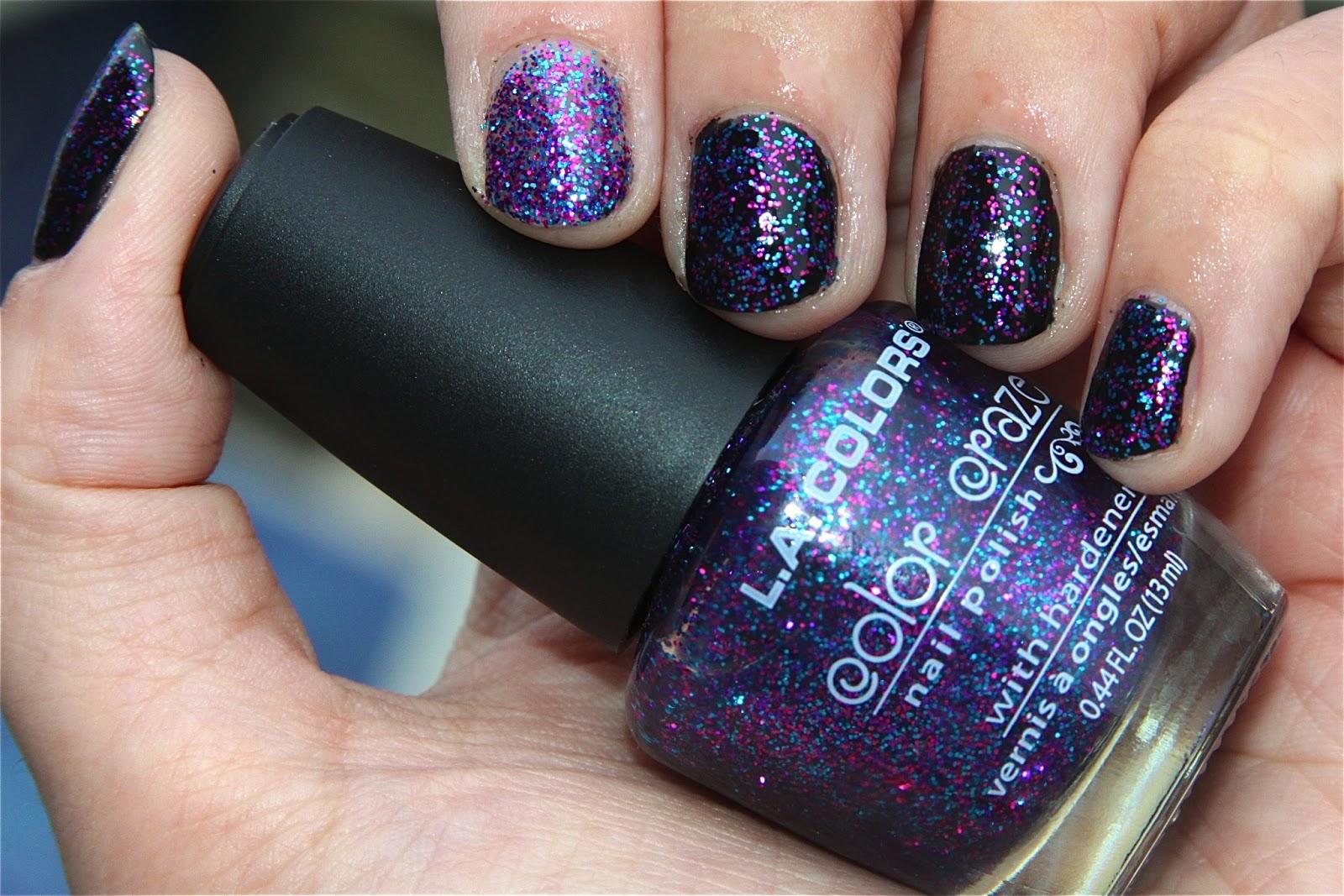 Glitter Kitty: LA Colors Color Craze Nail Polish - Jewel Tone