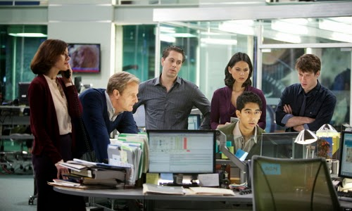 El reparto de la serie The Newsroom
