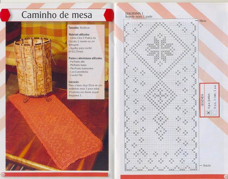 Lujoso Filete De Patrones De Ganchillo Colección de Imágenes - Manta ...