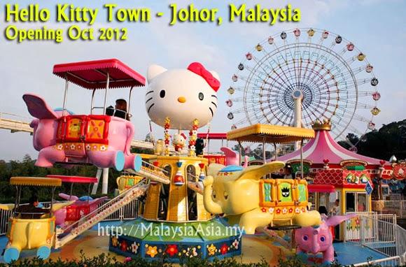 Kiranya Tarikan Untuk Pelancong Di Hello Kitty Ini Adalah Yang Terbaru Johor Seperti Legoland JugalahNamun Ia Lebih Kepada Konsep Taman Tema