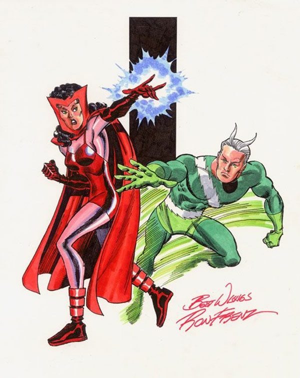 Quicksilver and Scarlet WitchQuicksilver And Scarlet Witch Marvel