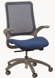 Blue and Gray Hawk Chair by Eurotech