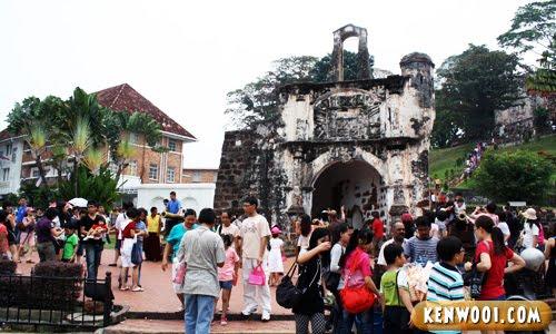 malacca a famosa fort