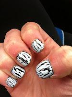 Style Athletics White Nail Crackle Polish