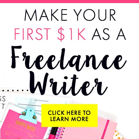 Write Your First $1K