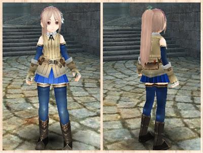 冒険者の服 青2