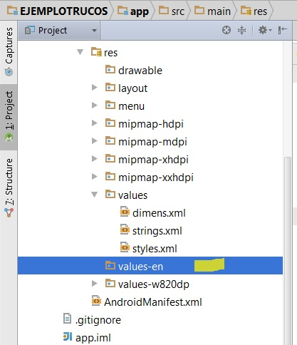 Android Studio Tricks: How to change the LANGUAGE of our Android application in Android Studio. Automatic adaptation by country.