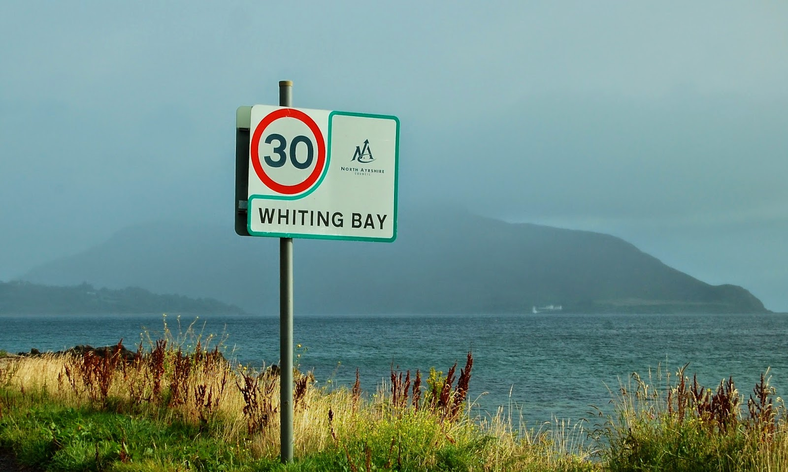 Whiting Bay on the Isle of Arran