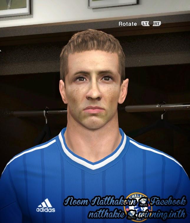Face de Torres do Chelsea para PES 2014