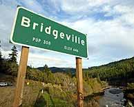 bridgeville california