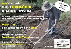 Curs Hort Ecològic d'Autoconsum