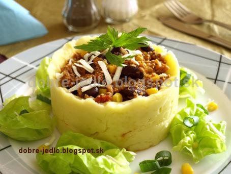 Mäso v zemiakovom obale - recepty
