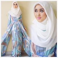 Foto Baju Muslim Dian Pelangi Warna Warni