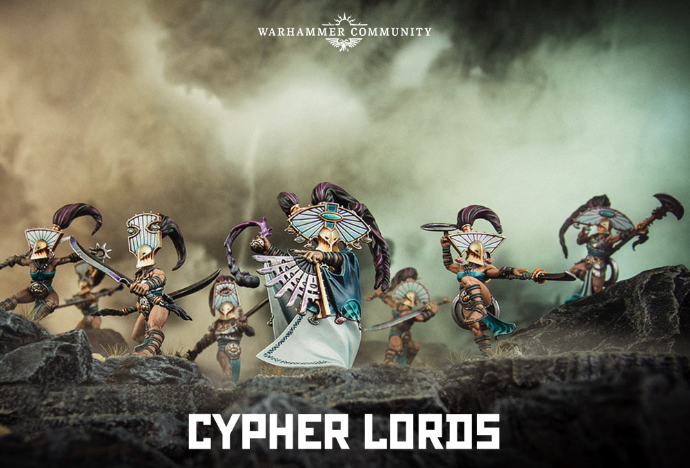 Beautiful New Warcry Models Revealed!!!!!!!