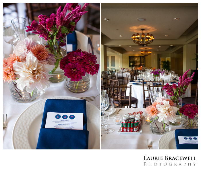 While Peter Did The Portraits I Ran Ahead To Four Seasons Georgetown For Reception Detail Photos How Fun Are These Lollipop Place Cards