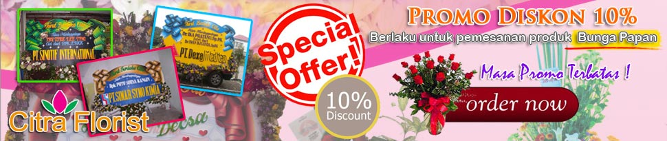 promo toko bunga surabaya