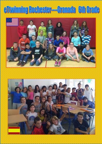PEN PALS PROJECT WITH NEW YORK 2014-2015