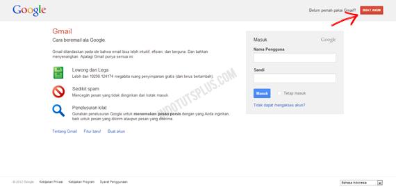Cara Membuat Email Baru di Google (Mendaftar Email)