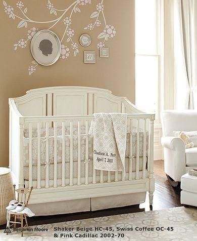 Elegant Neutral Crib Bedding