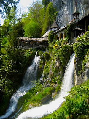 Caves of St. Beatus, Lake of Thun, Switzerland