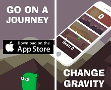 Most Addictive Game of the Month - Gravity Cactus