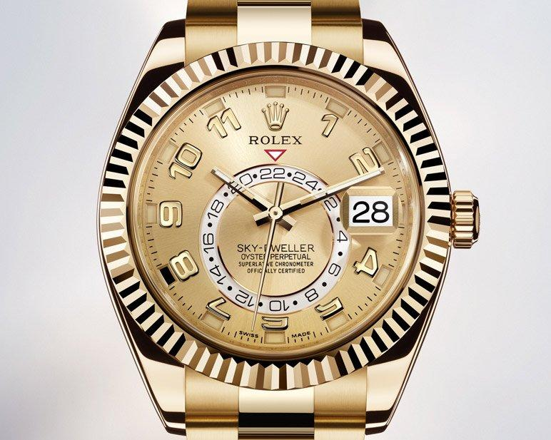 The rolex 2012 collection showcases sky dweller was presented at