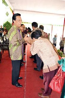 Halal bi Halal dengan Sri Sultan Hamengkubuwono X