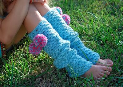 free crochet pattern granny stripe legwarmers