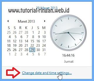 Ubah pengaturan waktu komputer