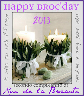 Happy Broc&#39;Day Secondo Compleanno di Rue de la Brocante