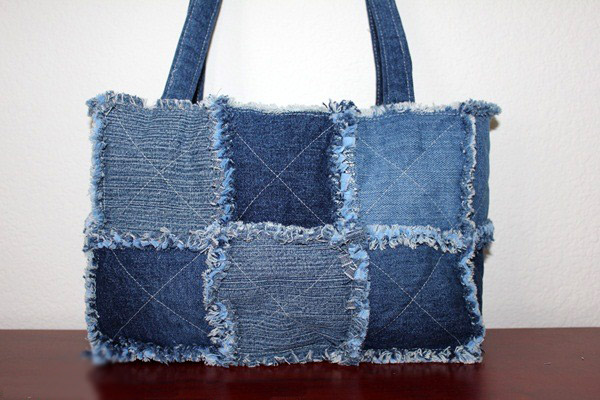 Bag of old jeans tutorial. u0421u0443u043cu043au0430 u0438u0437 u0441u0442u0430u0440u044bu0445 u0434u0436u0438u043du0441 ~ DIY Tutorial Ideas!
