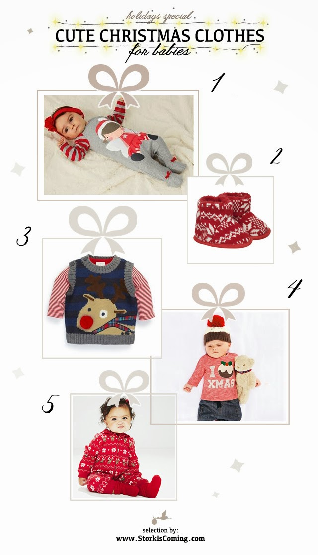 Cute christmas clothes for babies