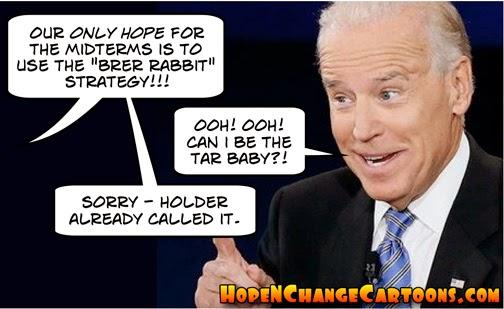 obama, obama jokes, political, humor, cartoon, stilton jarlsberg, hope n' change, hope and change, brer rabbit, impeachment, irs, border, biden, tar baby, holder