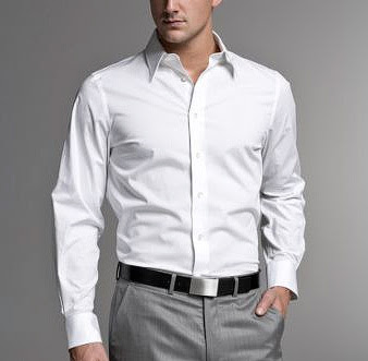 Como planchar una camisa dia internacional del hombre for Mens egyptian cotton dress shirts