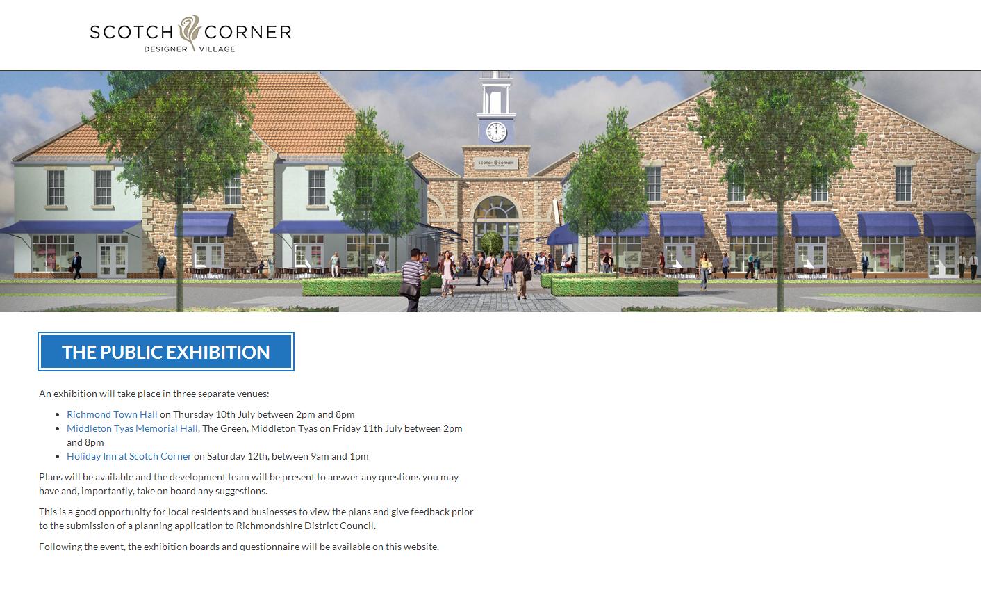 Scotch Corner Designer Village
