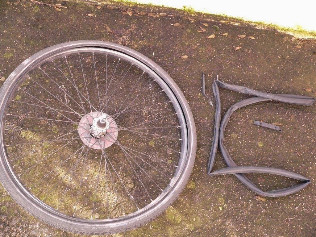 Reparatur Fahrrad Panne