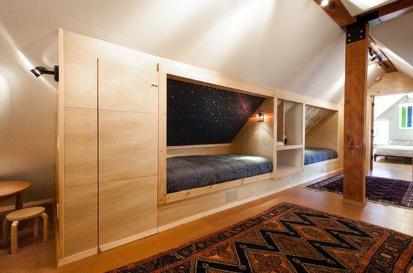 space saving ideas for attic bedrooms - f Grid Concepts Sleeping In Little Nook Spaces fy