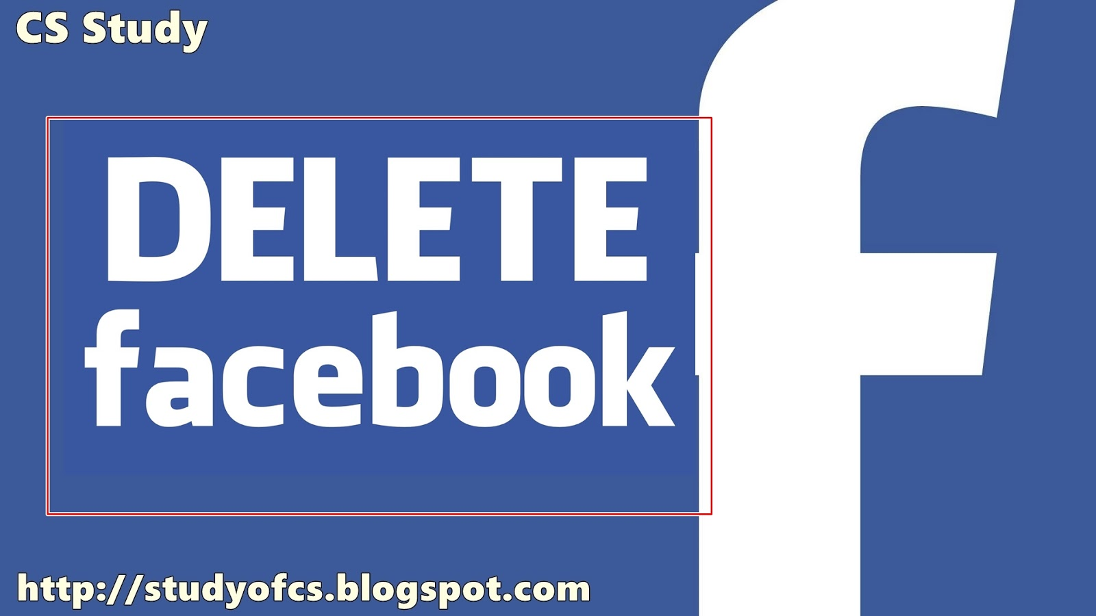Delete my facebook account permanently from facebook studyofcs remove my facebook account ccuart Images
