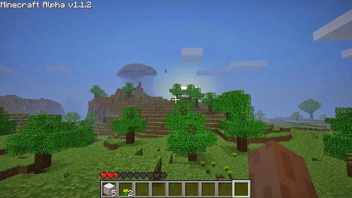 صورة من لعبة ماين كرافت Minecraft 1.7.5