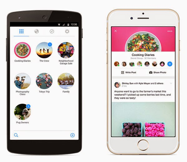 Facebook Groups app launched for Android and iPhone