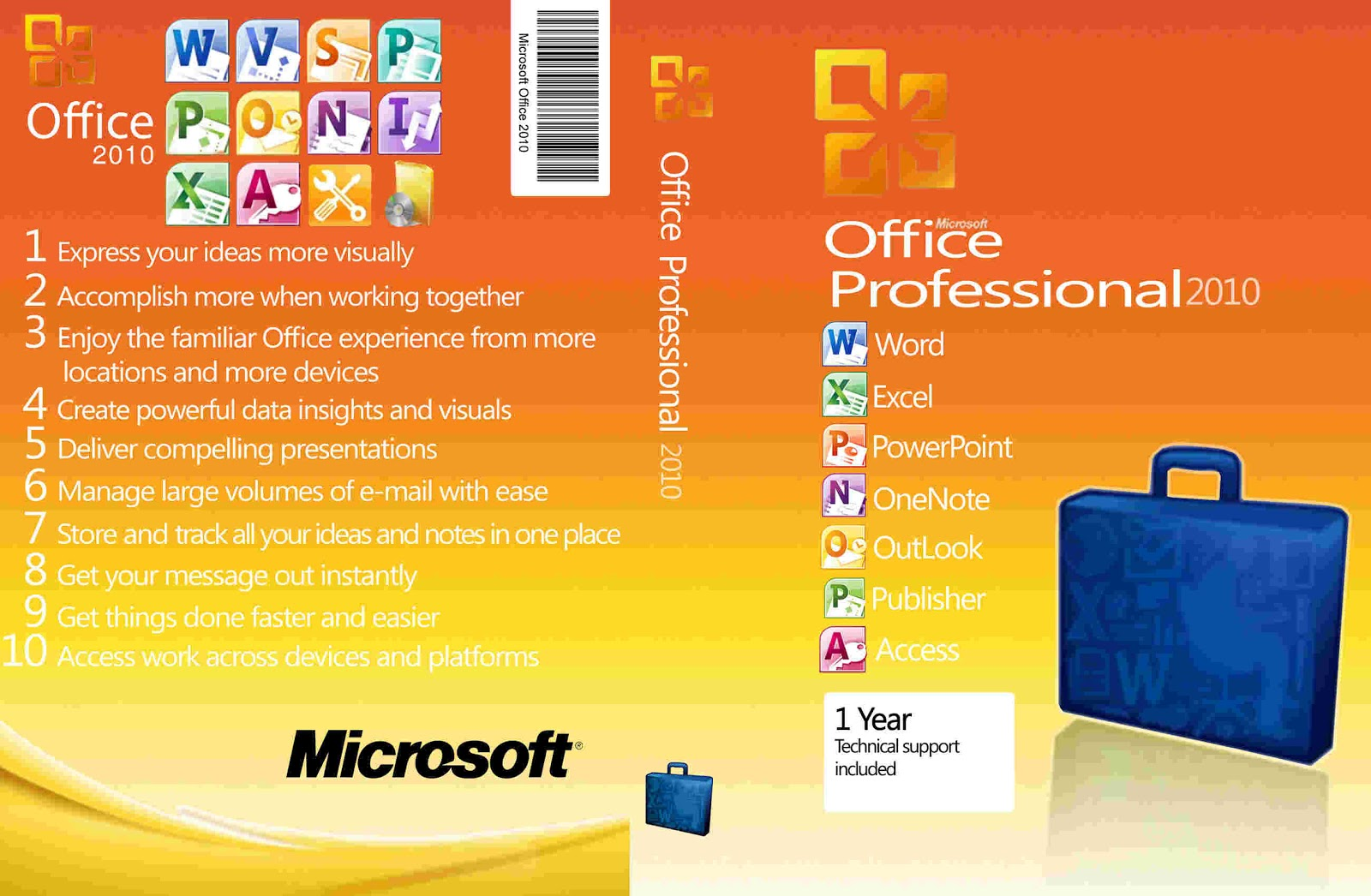 Free Download Microsoft Office 2010 Professional Plus Toolkit
