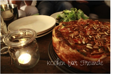 Lykkelig Mein Foodblog Kochen Fur Freunde Herbst Quiche Mit