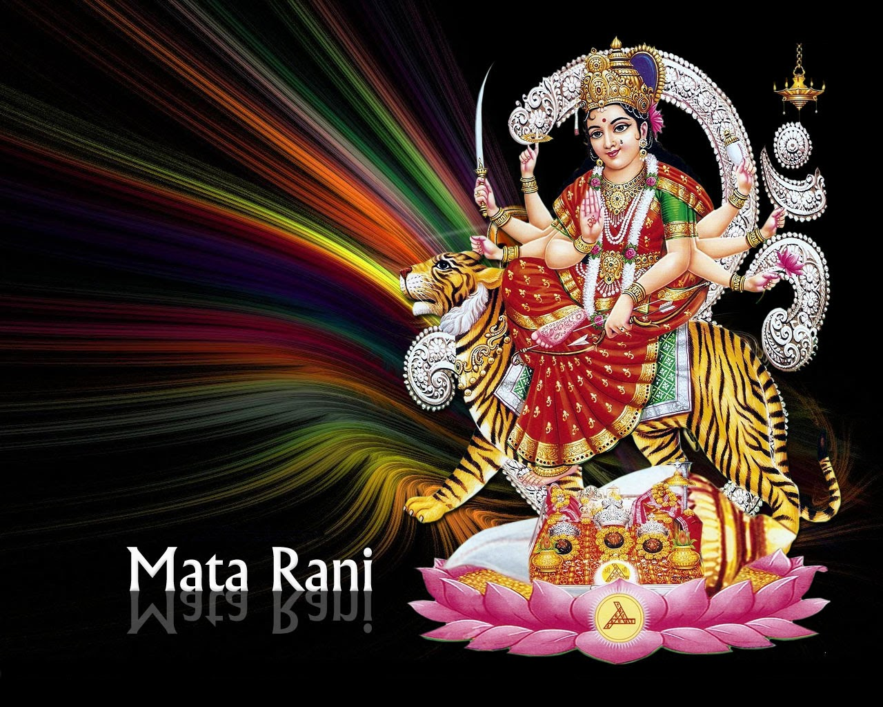 Hindu God Maa Durga Wallpapers Images Pictures Free Download