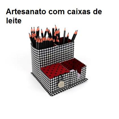 Curso de Artesanato com Caixas de Leite