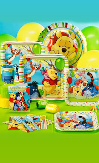 Disney Winnie the Pooh Birthday Party Kits - PartyBell.com