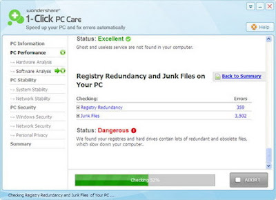 Wondershare 1-Click PC Care 7.4.0